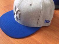 Brand new NEW ERA cap blue/grey 59 FIFTY range