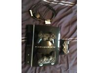 PS3 and controllers.