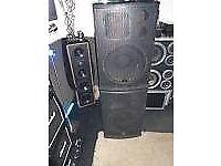 Behringer B1520 speakers