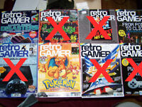 Various Retro Gamer magazines