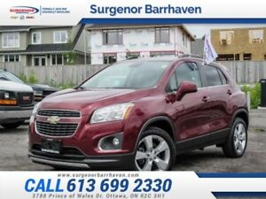 2014 Chevrolet Trax LTZ  - Bluetooth - $140.58 B/W