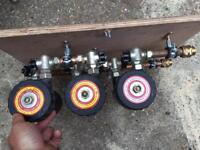 Power flush rig