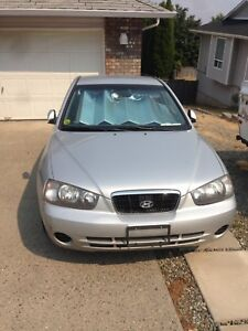 03 Hyundai Elantra (low kms, needs work)
