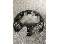 Stagg mountable tambourine for drum kit in black good condition