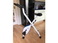 Davina McCall Fold Away Exercise Bike - excellent condition