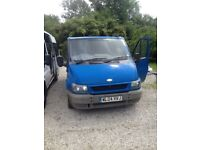Ford transit, spares or repair MOT fail, was quoted £320 to get it through, runs good, is what it is