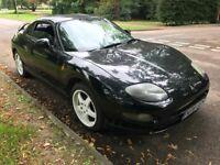 Mitsubishi FTO 1990cc Petrol Automatic 2 Door coupe N reg 1996 Black