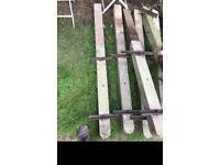 Concrete blocks for fences for sale