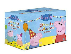*Brand New* Peppa Pig Ultimate Collection 20 DVD Boxset
