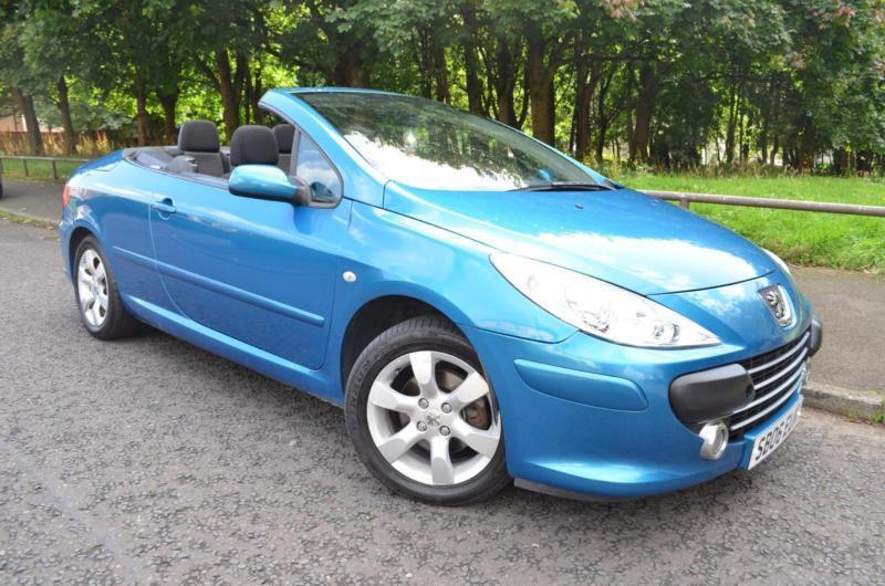 2006 PEUGEOT 307 S COUPE CABRIOLET CONVERTIBLE PETROL
