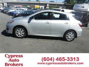 2013 Toyota Matrix Balance Of Factory Warranty Financing Availab
