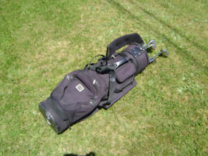 ***$275 OBO.                MEN'S POWERBILT GOLF CLUBS (R.H.)***