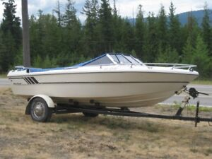 18' Boat-Motor and Trailer