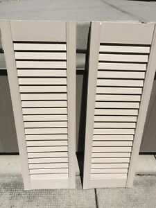Volets - Shutters