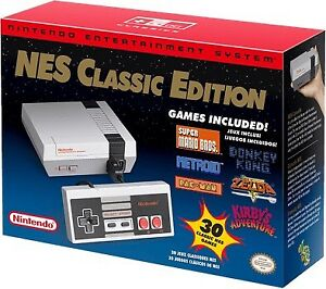 NES CLASSIC WITH BOX AND 3 CONTROLLERS