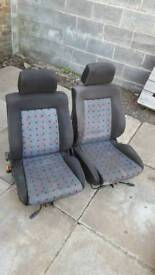 Vw Mk2 polo and golf seats