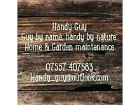 'Handy Guy' local, friendly and professional handyman