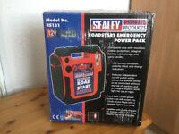 Emergency power pack 12v 900 peak amps Unused