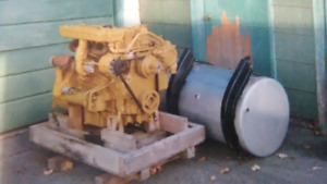Catappillar engine for backhoe or other equipment