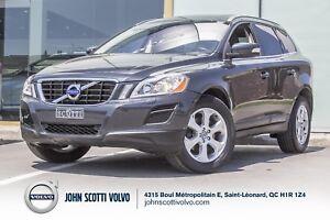 2013 Volvo XC60 3.2L CERTIFIÉ 31 MAI 2019 OU 160,000KM.