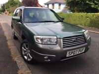 2007 Subaru Forester 2.0 X AWD, long MOT