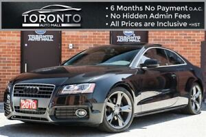 2010 Audi A5 2.0T Premium+S line+Bang & Olufsen+Pano roof