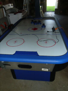Full size 80 inch air hockey table