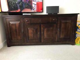 Sideboard - solid dark wood
