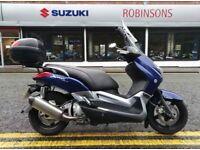 Yamaha xmax 250, not sh300 vespa honda piaggio suzuki kawasaki