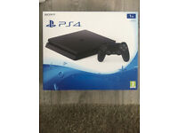 Sony PS4 Slim 1TB Console - Brand new and Sealed