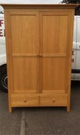 Solid oak wardrobe * free furniture delivery*