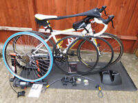Complete Triathlon Package - Bike-Turbo Trainer-Wet suits and more