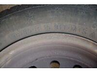 wheels and tyres for peugeot partner/citroen Berlingo