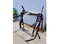 Boot mounted cycle rack