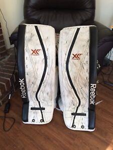 Reebok XLT Goalie Pads and Blocker and Glove