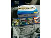 Ps4 slim gold and 6 games