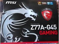 MSI Z77A-G45 GAMING MOTHERBOARD SOCKET LGA-1155