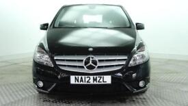 2012 Mercedes-Benz B Class B180 CDI BLUEEFFICIENCY SE Diesel black Manual
