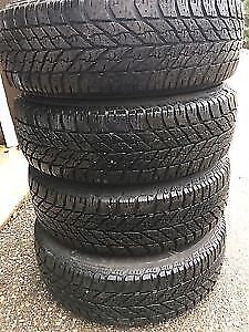 275/60R20 BF 4 70% SLIGHTLY USED TIRES 75% TREAD  WE HAVE MORE