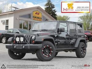 2008 Jeep Wrangler Unlimited Rubicon H/S.Tops,Ultimate advent...