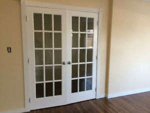 Double French Doors & Frame