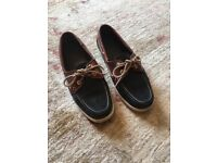 Russell & Bromely Sebago Docksides - Ladies size 7