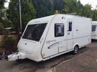 2010 Compass Corona Club 474 4 Berth caravan FIXED BED MOTOR MOVER Bargain !