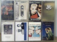 CRAZY HORSE, ERASURE, EURYTHMICS, FLEETWOOD M, PET SHOP BOYS, PROCLAIMERS, SIMPLY RED CASSETTE TAPES