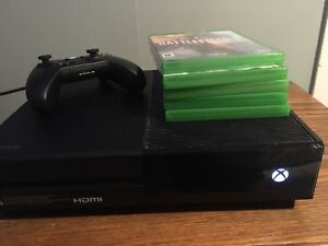 XBOX ONE 500 GB (with games) - TRADE FOR PS4 (with games)