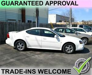 2008 Pontiac Grand Prix Sedan - GUARANTEED APPROVAL - APPLY SOON