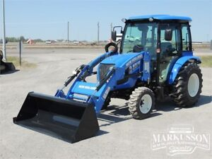 2017 NH Boomer 40 Tractor with Cab - 40HP, A/C & Heater, Loader