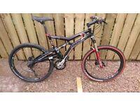 Marin trail attack mountain bike