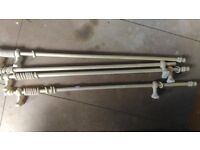 Curtain Rods/Poles wooden 28mm