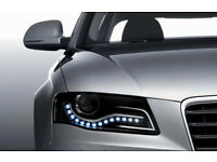 Brandnew waterproof white LED's daytime running lights,profile to suit any cars, costs £65,only £25